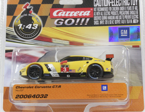 64032 Carrera GO!!! Chevrolet Corvette C7R 1:43 Slot Car