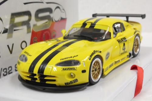S0020 RevoSlot Chrysler Viper GTS-R Oreca, #4 1:32 Slot Car