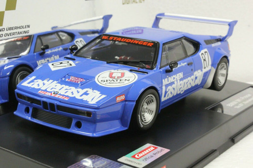 23871 Carrera Digital 124 BMW M1 Procar Norisring 1981, #87 1:24 Slot Car