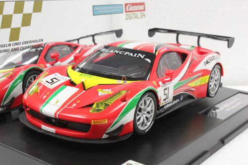 23879 Carrera Digital 124 Ferrari 458 Italia GT3 AF Corse #51 1:24 Slot Car