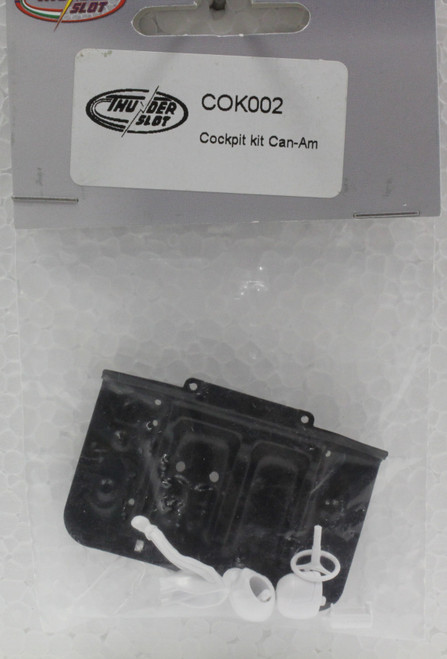COK002 Thunderslot Lola T70 Can-Am Cockpit Kit 1:32 Slot Car Part