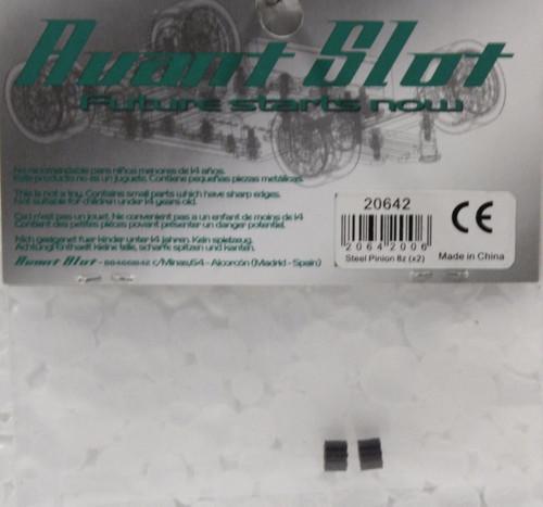 20642 Avant Slot 8-Tooth Steel pinion 5.5mm (2 Pieces) 1:32 Slot Car Part