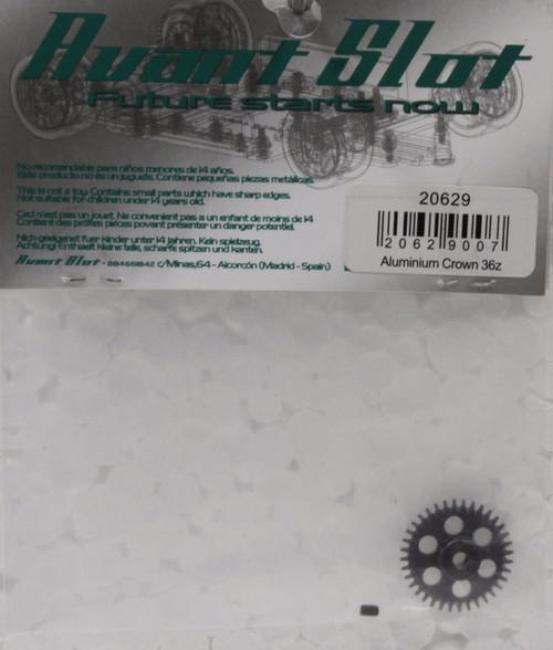 20629 Avant Slot 36-Tooth Anglewinder Aluminium Crown 1:32 Slot Car Part