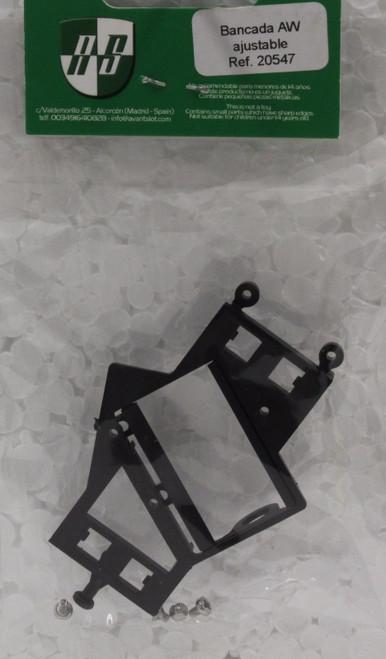20547 Avant Slot Adjustable Anglewinder Motor Mount 1:32 Slot Car Part