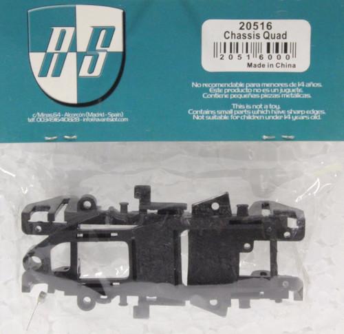 20516 Avant Slot Quad Chassis Black 1:32 Slot Car Part
