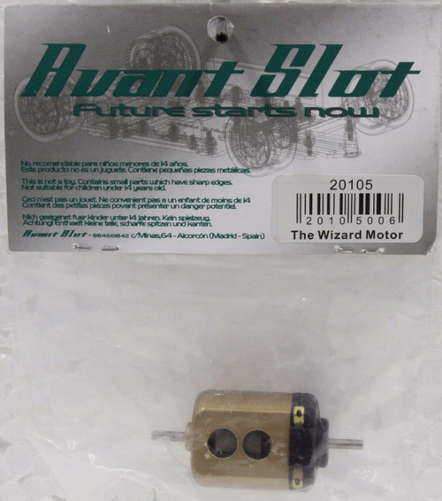 20105 Avant Slot The Wizard Short Can Motor 25,000 RPM 1:32 Slot Car Part