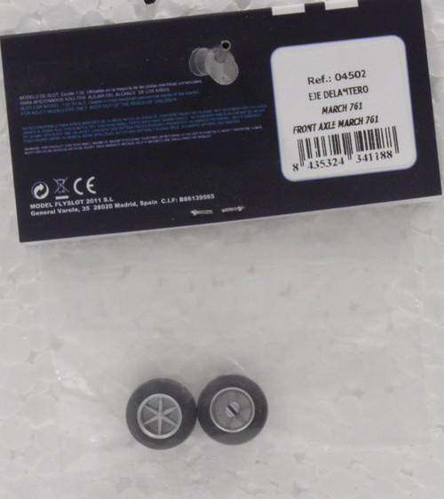 04502 Fly March 761 Front Wheels 1:32 Slot Car Part