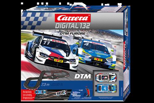 30008 Carrera Digital 132 DTM Furore Wireless+ 1:32 Slot Car Set