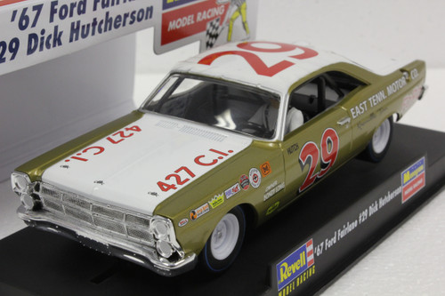 4836 Revell/Monogram 1967 Ford Fairlane Dick Hutcherson 1:32 Slot Car