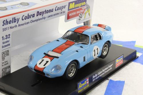 4835 Revell/Monogram Gulf Shelby Daytona Cobra Coupe Limited Edition 1:32 Slot Car