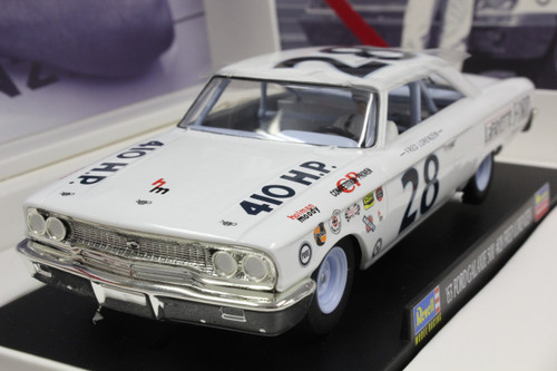 4892 (08333) Revell/Monogram 1963 Ford Galaxie 500 NASCAR Fred Lorenzen Limited Edition 1:32 Slot Car