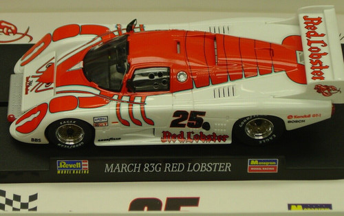 4877 Revell/Monogram March 83G Red Lobster, #25 1:32 Slot Car