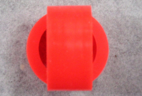1204RC Super Tires -Silicone Tires for 15x7 Wheels - Orange 1:32 Slot Car Part
