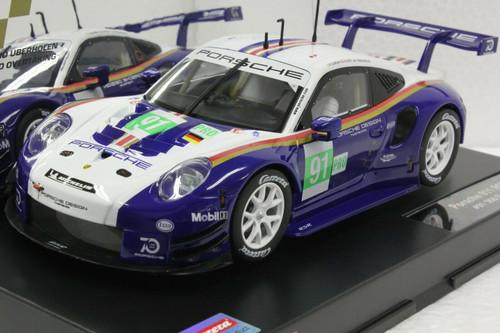 23885 Carrera Digital 124 Porsche 911 RSR 956 Design, #91 1:24 Slot Car