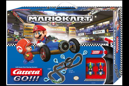 62492 Carrera GO!!! Nintendo Mario Kart Mach 8 1:43 Slot Car Racing Set