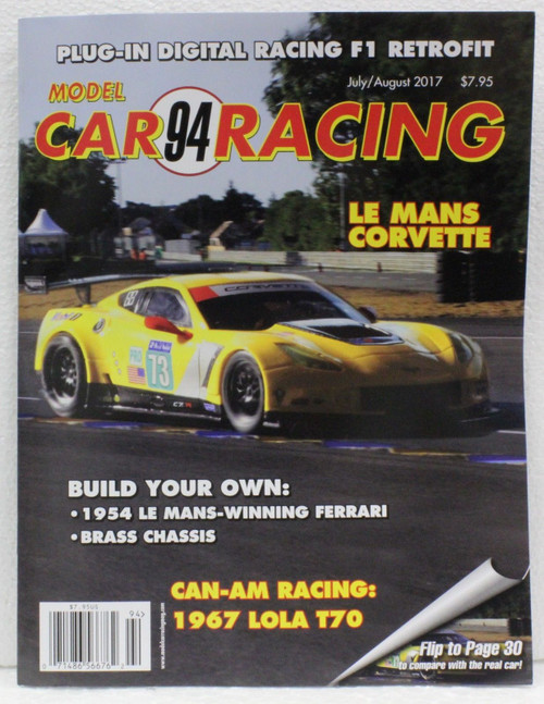 Model Car Racing Magazine #94 - July/August 2017 1:32 Slot Car Magazine