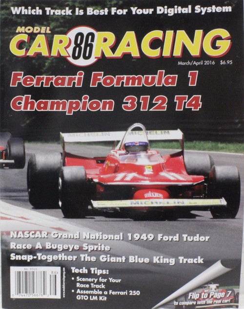 Model Car Racing Magazine #86 - March/April 2016 1:32 Slot Car Magazine