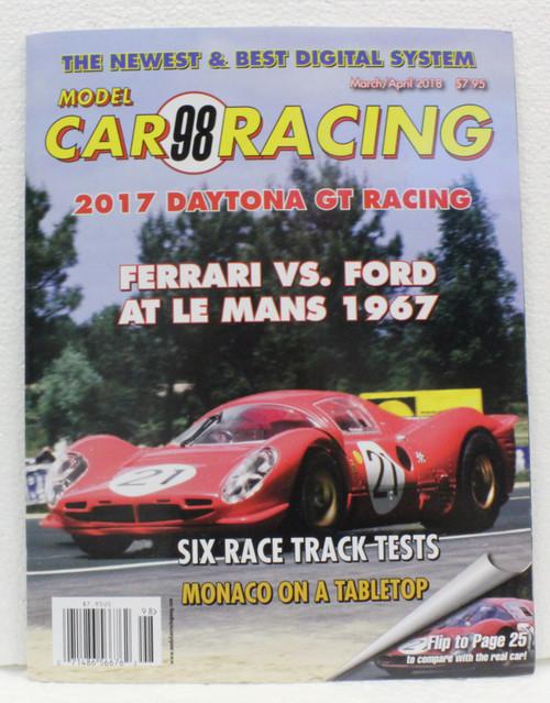 Model Car Racing Magazine #98- March/April 2018 1:32 Slot Car Magazine