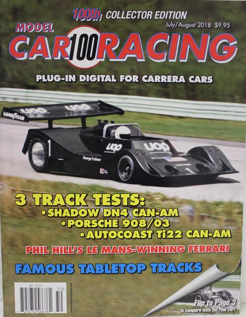 Model Car Racing Magazine #100 - July/August 2018 1:32 Slot Car Magazine