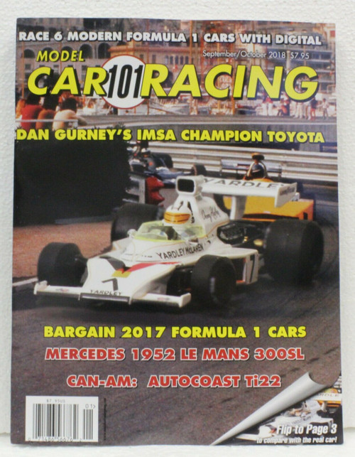 Model Car Racing Magazine #101 - September/October 2018 1:32 Slot Car Magazine