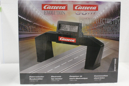 Carrera 71590 Electronic Lap Counter/Timer 1:43 1:32 Slot Car Accessory