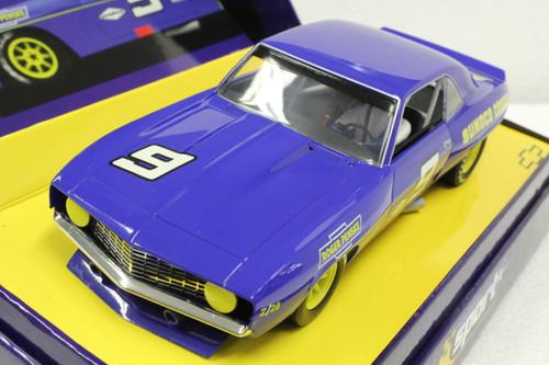 C2400A Scalextric Sport Chevrolet Camaro 1969 #9 1:32 Slot Car
