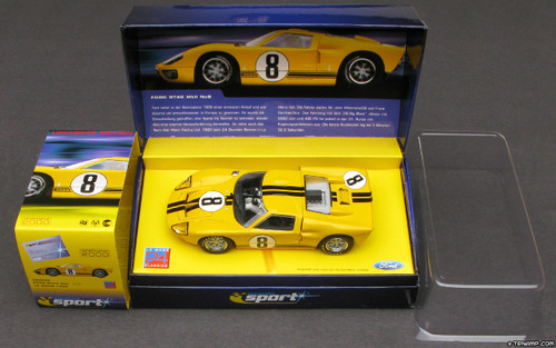 C2683A Scalextric Sport Ford GT40 MKII Alan Mann Racing, #8 1:32 Slot Car
