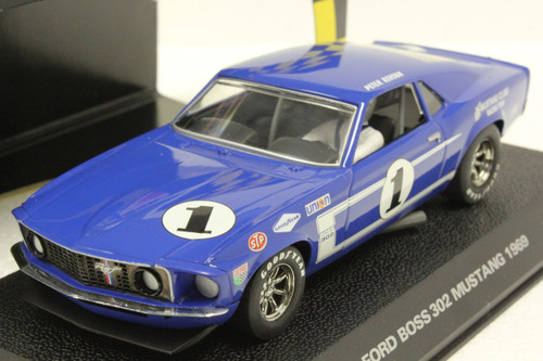 C2576 Scalextric Ford Boss 302 Mustang 1969, #1 1:32 Slot Car