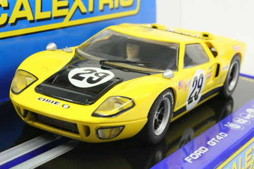 C3211 Scalextric Ford GT40 MKII Sebring 1970, #29 1:32 Slot Car