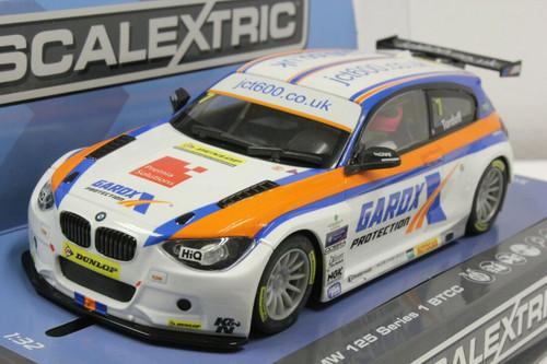 C3735 Scalextric BTCC BMW 125 Series 1 - Croft Circuit 2015, #7 1:32 Slot Car *DPR*