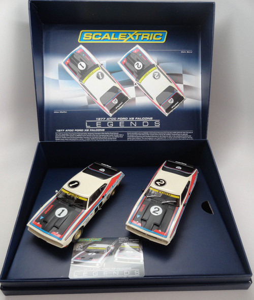 C3587A Scalextric Touring Car Legends Ford XB Falcon - 2 Car Set 1:32 Slot Car