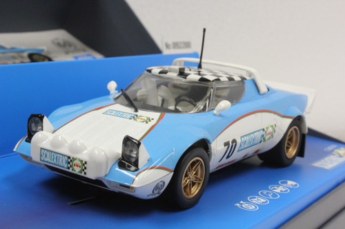 C3827A Scalextric Lancia Stratos 60th Anniversary Collection - 1970s , #70 1:32 Slot Car
