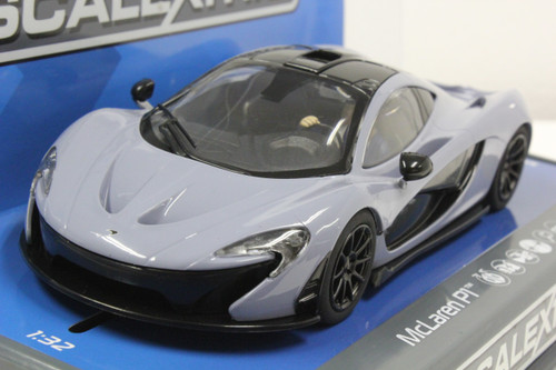 C3877 Scalextric McLaren P1 Ceramic Grey 1:32 Slot Car