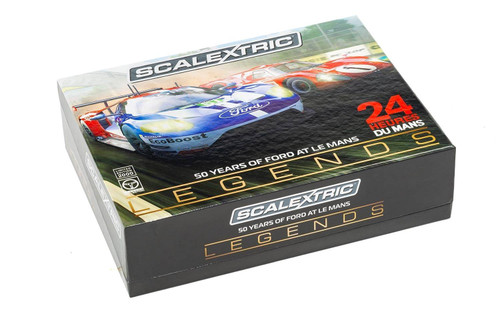 C3893A Scalextric Legends 50 Years of Ford at Le Mans MKIV/GT GTE- 2 Car Boxed Set 1:32 Slot Car