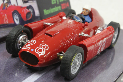 0034 Cartrix Lancia D50 GP Monaco 1955 - Slot Forum Madrid Fall 2014 Luigi Villoresi, #28 1:32 Slot Car
