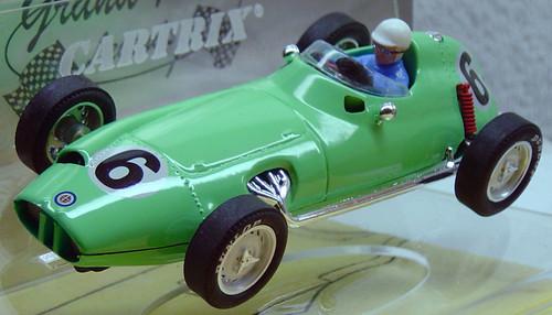0952 Cartrix BRM P-25 Stirling Moss British GP 1959, #6 1:32 Slot Car