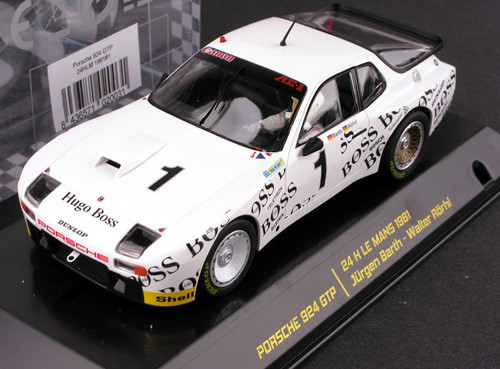 02003 Falcon Slot Cars Porsche 924 GTP 24h Le Mans 1981, #1 1:32 Slot Car
