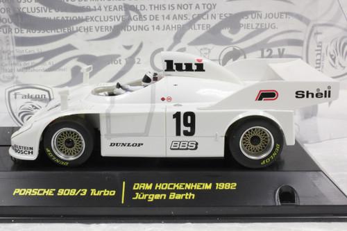 09002 Falcon Slot Cars Porsche 908/3 Turbo DRM Hockenheim 1982, #19 1:32 Slot Car