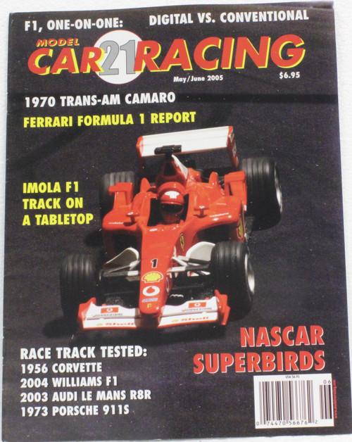 MCRM21 Model Car Racing Magazine #21- May/June 2005 1:32 Slot Car Magazine