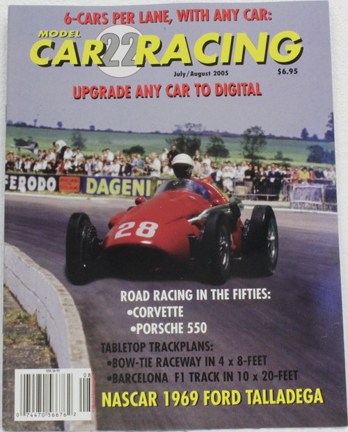 MCRM22 Model Car Racing Magazine #22 - July/August 2005 1:32 Slot Car Magazine