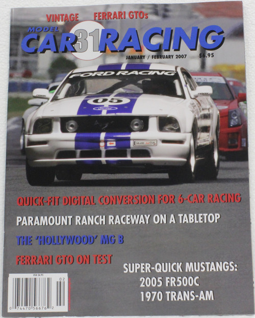 MCRM31 Model Car Racing Magazine #31 - January/February 2007 1:32 Slot Car Magazine
