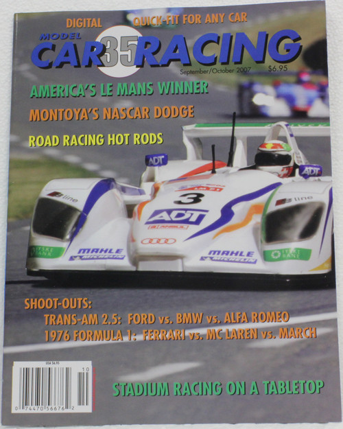 MCRM35 Model Car Racing Magazine #35 - September/October 2007 1:32 Slot Car Magazine