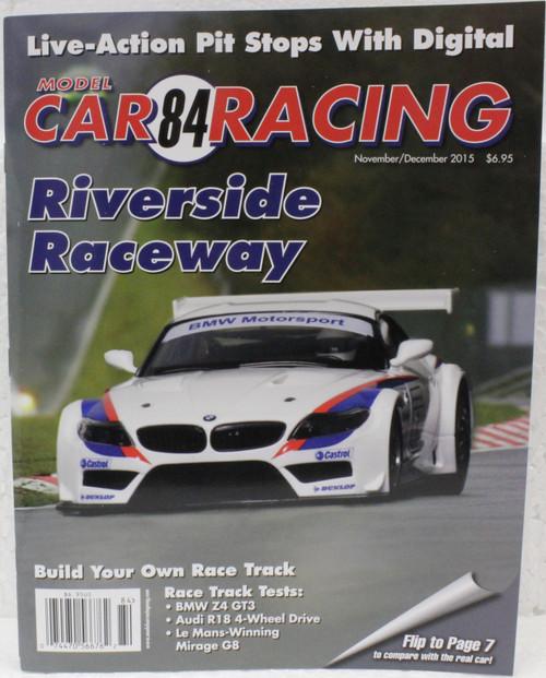 MCRM84 Model Car Racing Magazine #84 - November/December 2015 1:32 Slot Car Magazine