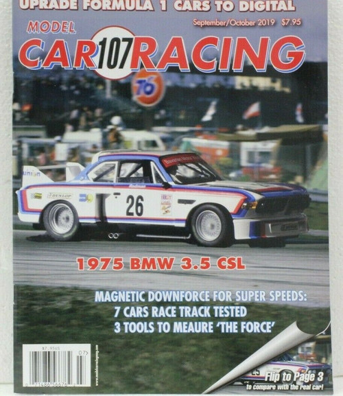 MCRM107 Model Car Racing Magazine #107 - September/October 2019 1:32 Slot Car Magazine
