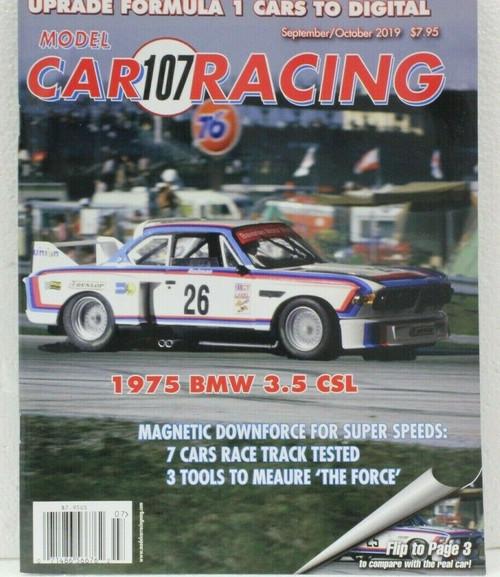 MCRM107 Model Car Racing Magazine #107 - September/October 2019 1:32 Slot Car Magazine