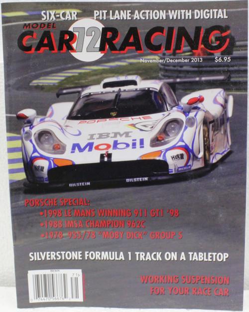 MCRM72 Model Car Racing Magazine #72 - November/December 2013 1:32 Slot Car Magazine