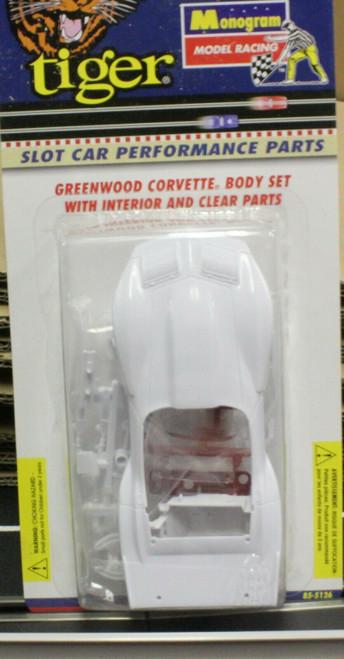 85-5126 Monogram Tiger Body Kit for Greenwood Corvette 1:32 Slot Car