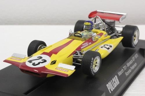 CAR04C Policar March 701 Monaco GP 1970 Ronnie Peterson, #23 1:32 Slot Ca