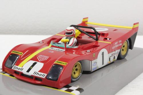CAR01C Policar Ferrari 312PB 1st 1000km Monza 1972 - Jacky Ickx/Clay Regazzoni, #1 1:32 Slot Car