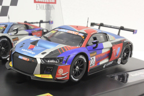 27592 Carrera Evolution Audi R8 LMS, #22A 1:32 Slot Car